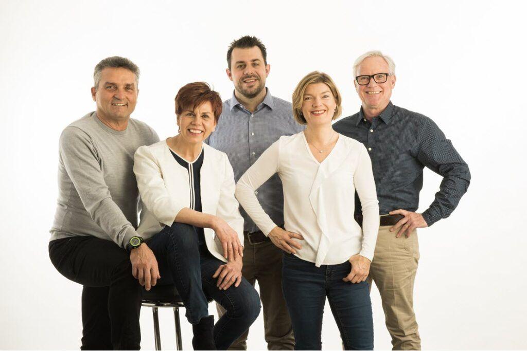 Team der Immobilienagentur Eigenheim Schweiz in Uster, Kt. Zürich